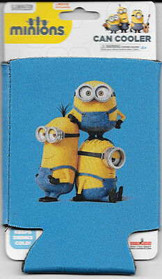 Minions Movie Piled Up Minions Beer Huggie Can Cooler Koozie NEW UNUSED