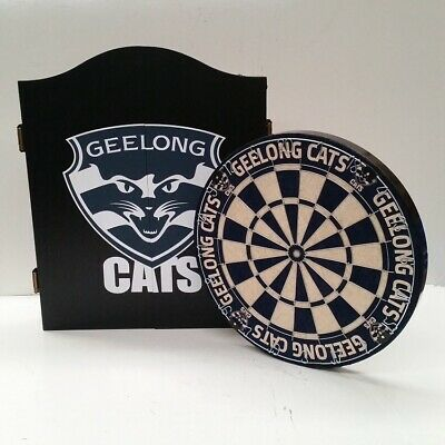 AFL Licensed DARTBOARD PACK - Geelong CATS