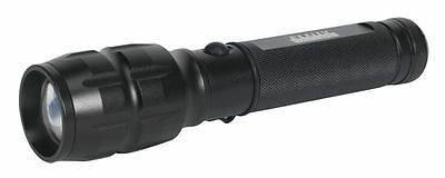 Sealey Aluminium Torch 10W CREE LED Rechargeable Lithium-ion  Adjustable Focus