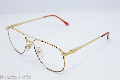 Loris Azzaro Intense 24 01 56mm 18-K Gold Tortuga Eyewear Eyeglass Frames
