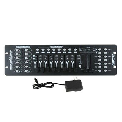 New 192 CH DMX512 Controller Laser DJ Light Disco Stage Lighting Console