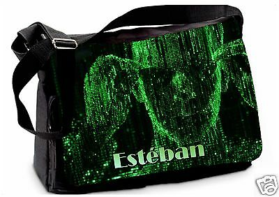SAC ECOLE BANDOULIERE GRAND MODELE  REF 86 SCIENCEFICTION prénom personnalisable
