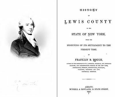 1860 LEWIS County New York NY, History and Genealogy Ancestry DVD CD B25