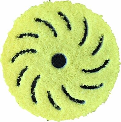 Rupes 6 Inch Yellow Microfiber Finishing Pad 9BF170XM