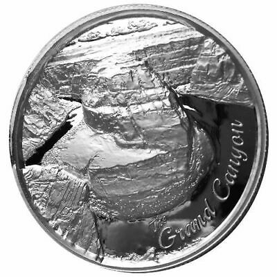 American Landmark Series Grand Canyon Ultra High Relief 2 oz .999 Silver Round