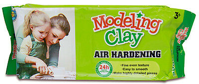 2KG Air Hardening Modelling Clay AIR DRY CLAY White for Art Learner Craft Supply