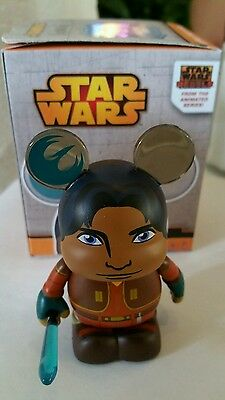 "DISNEY WDW STAR WARS EZRA BRIDGER 3"" VINYLMATION FIGURINE NEW IN BOX"