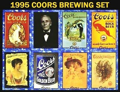 1995 Coors Brewing Co. Coors Beer - Complete Set of 100 - NEAR MINT-MINT