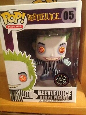 Funko Pop Movies Beetlejuice Rare Chase Glow In The Dark New In Box