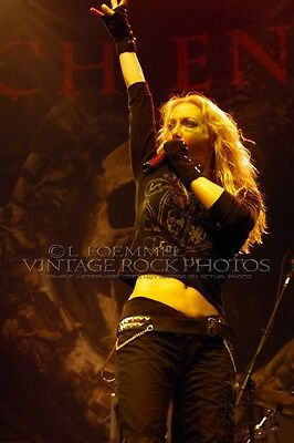 Angela Gossow Arch Enemy Photo 8x12 or 8x10 in '06 Live Concert Columbus OH L35