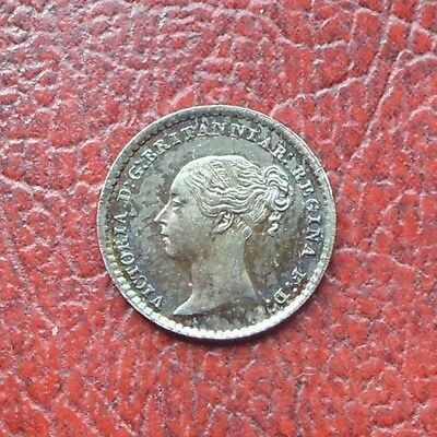 Victoria 1872 silver maundy penny