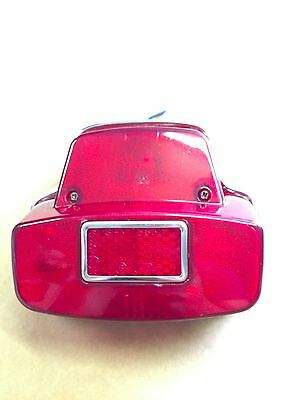 Vespa Completed Rear Light, Stoplight for Sprint, SS, GL with Siem stamp