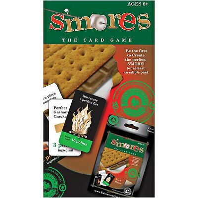 S'MORES CARD GAME- Designed Up To 6 Multi-Level Players, Good Old Fashion Fun