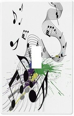 Musical Notes Wallplate Wall Plate Decorative Light Switch Plate Cover