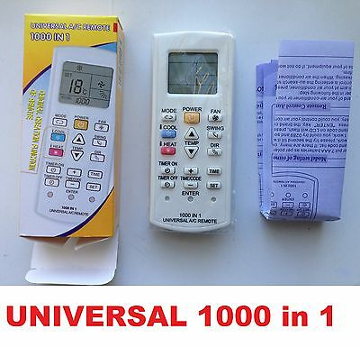 universal Air Conditioner Remote Control For Kelvinator Lumina Mistral NEC AUX