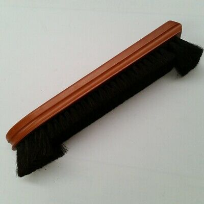 12 inch Deluxe Snooker Pool Table Bristle Brush Mahogany