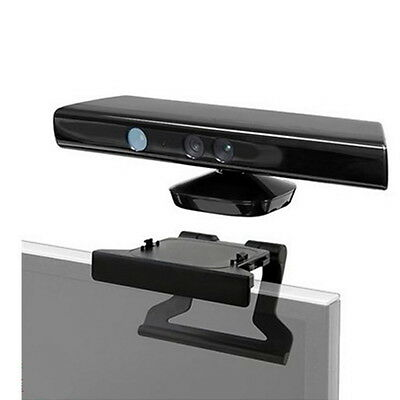 TV Clip Mount Mounting Stand Holder for Microsoft Xbox 360 Kinect Sensor NEW LO