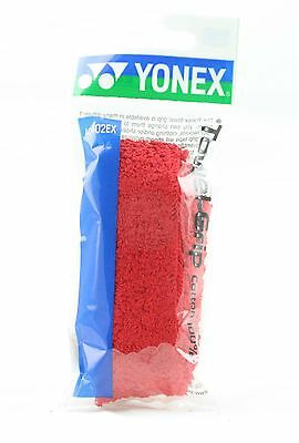 Yonex Towel Grip Replacement Cotton 100% Badminton Squash - Red
