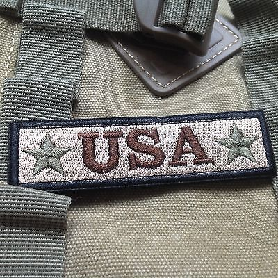 Usa Tactical Military Usa Army Isaf Morale Badge Swat Patch
