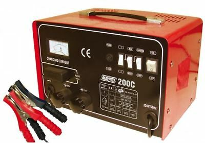 Maypole 7225 START CHARGER 12/24V 20A CURRENT / 200A MAX