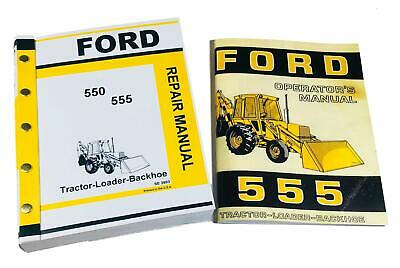 ford c c c tractor loader backhoe service manual repair ford 555 tractor loader backhoe owners operators service repair shop manual