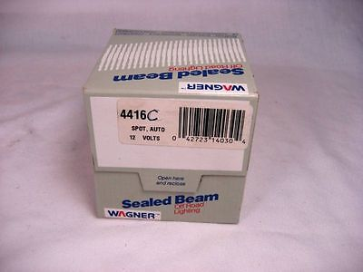 New in  Box Wagner 4416C Clear Lamp Sealed Beam