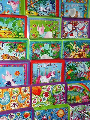 """CARD EMPORIUM X 72 CARDS JUST 20p, WRAPPED, LUXURY BOARD & ENVELOPES,5"""" SQUARE"""