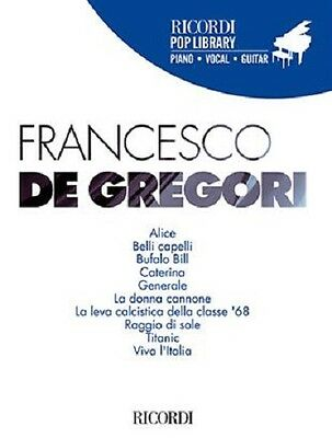 FRANCESCO DE GREGORI - Collana Ricordi Pop Library