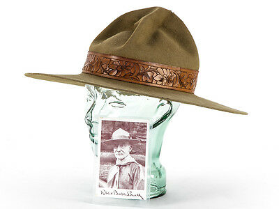 c1900 Scouting Hat Original Owned & Worn by Robert Baden-Powell