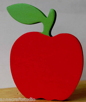 Apple Shape-Freestanding-Decorations- Gift-Hand Made From Mdf
