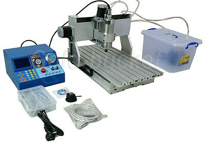 CNC 3040 Router Milling Engraving Machine 4 Axis Desktop Metal Carving LCD Manua