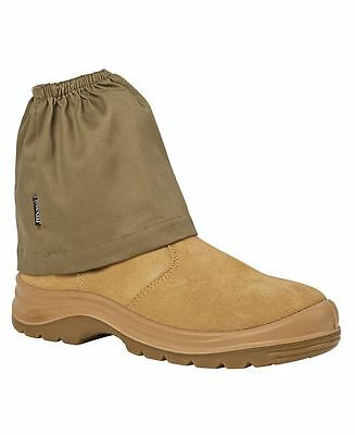 Plain Work Boot Cover | Shoes Socks Protector | Safety Footwear Khaki Navy Black
