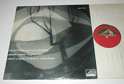 LP/WILHELM FURTWÄNGLER/WAGNER/STRAUSS/HMV VALP 1525 made in Austria