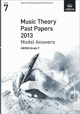 Theory Exams Model Answers Grd 7 (2013); ABRSM, FMW - 9781848496200