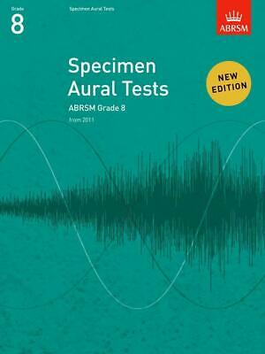 Specimen Aural Tests Grade 8; ABRSM, Ear Tests, FMW - 9781848492554