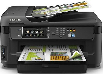 Epson WorkForce WF-7610DWF A3+ Colour Inkjet MFP with Fax - BRAND NEW