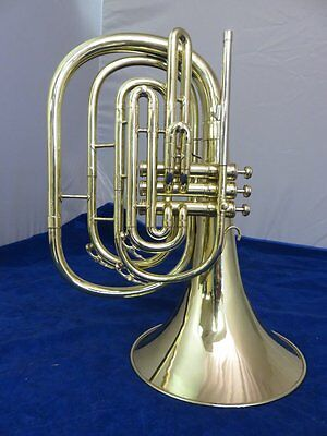 King Marching French Horn, Model 1122, Completely Restored!