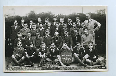 1937 Rp Npu Postcard Nailsworth Super (Higher) Primary School Grade V111B T46