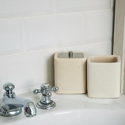 Villeroy & Boch Bathroom Toilet Tumbler Cup Toothbrush Soap Holder Accessory Set