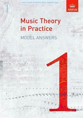 ABRSM Music Theory In Practice: Model Answers - Grade 1 Book Theory