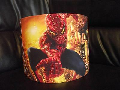 "Spiderman 10"" Drum Ceiling Lampshade Lightshade"