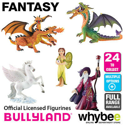 Genuine Bullyland Fantasy Collection Plastic Figurines Figures Full Range!