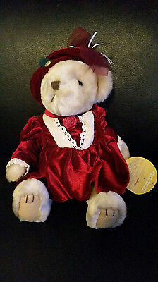 Pickford Brass Button Collectibles Bear Pearl The Bear Of Wealth w/tag
