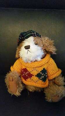 Pickford Brass Button Augie Dog of Friendship Collectable stuffed/plush animal