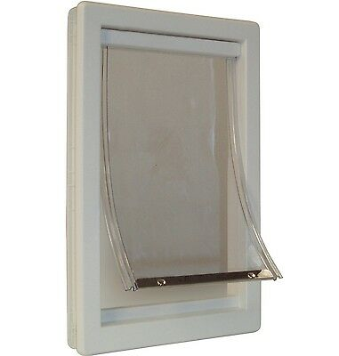 Dog Patio Door Cat Doggie Pet Gate Wall Hole Flap Medium Extra X Large Panel New