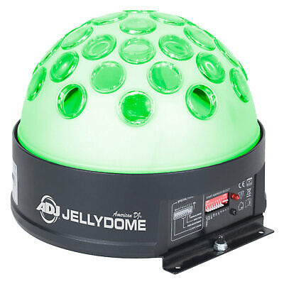 American DJ Jelly Dome LED Transparent Glow Casing Rotating Beam Effect Light