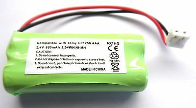 Tomy Digital Tf550 Y7575Uk Baby Monitor Rechargeable Battery 2.4V