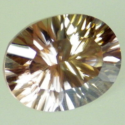 NATURAL ZIRCON-TANZANIA 3.41Ct FLAWLESS-JEWELRY  /COLLECTOR GDE GEM-PERFECT CUT