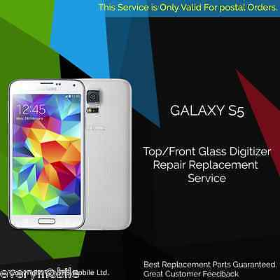 Samsung Galaxy S5 G900F Screen Replacement Cracked Front Glass Repair Service