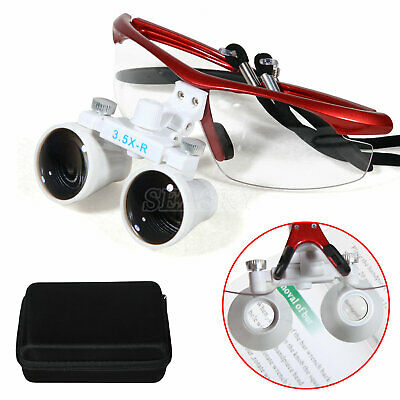 3.5x Dental Medical Surgical Binocular Loupes Magnify Glasses for Dentist Clinic